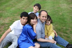 Mukhtar Ablyazov with family
